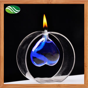 Beautiful Transparent Glass Oil Lamp pictures & photos