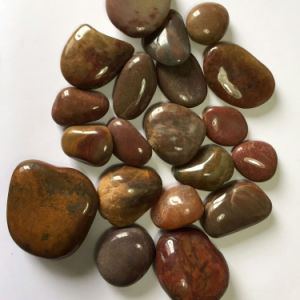2-3cm Red High Polished Natural Cobble &Pebble Stone (SMC-PR025) pictures & photos