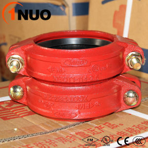 Ductile Iron Pipe Fittings Rigid Grooved Couplings Produced in China pictures & photos