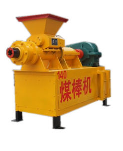 High Yield Coal and Charcoal Powder Briquette Extruder
