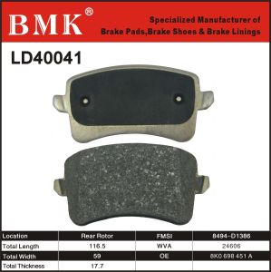Adanced Quality Brake Pad for Audi A8 pictures & photos