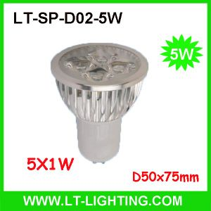 5X1w LED Spot Light (LT-SP-D02-5W)