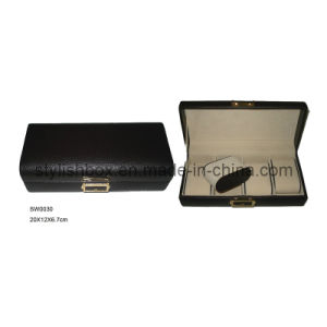 Luxury Leather Watch Box with 4 Slots (SW0030)