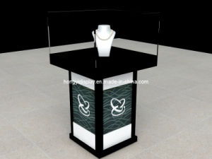 Jewelry Showcase, Jewelry Display Kiosk, Glass Showcase pictures & photos