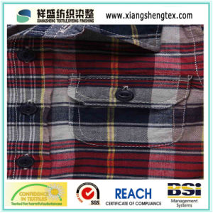 100% Cotton Yarn-Dyed Plaid Fabric for Shirt pictures & photos