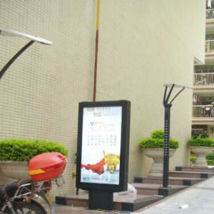 Roll up Advertising Scrolling Signage pictures & photos