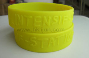 Embossed Own Logo Wrist Band