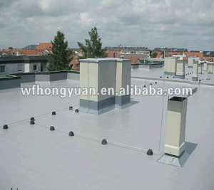 China 1 2 1 5 2 0mm White Grey Anti Uv Pvc Roofing And Waterproofing Membrane China Pvc Roofing And Waterproofing Membrane Pvc Roofing Membrane