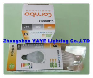 Yaye CE/RoHS Approval Top Sell E27 SMD 7W LED Bulb/E27 LED Bulb Lamp with USD3.62/PC (YAYE-GDLB7WA) pictures & photos