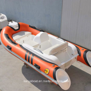 Liya 3.3m Rib Boat Fiberglass Sport Boat Mini Fishing Boat Made in China pictures & photos