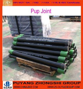 API 5b K55 Steel Tubing Pup Joint with Nue and Eue Thread pictures & photos