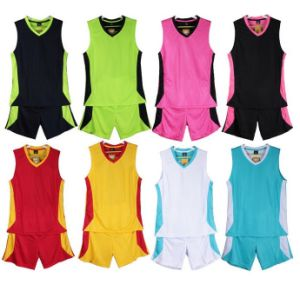 Breathable Polyester Sports Suit Basketball Uniforms