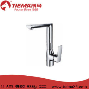 New Fashion Style Single Lever Kitchen Faucet (ZS61814)