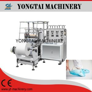 Embossed Sole Anti-Skid Overshoe Making Machine pictures & photos