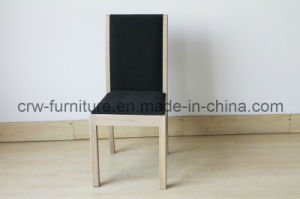 Fabric Wooden Legs Dining Chair (UF-207) pictures & photos