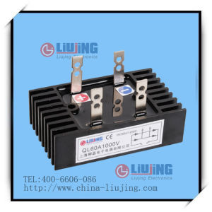Single Phase Bridge Diode Bridge Rectifier Ql60A pictures & photos
