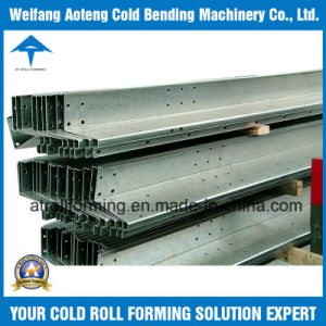 Solid Carport Beam Roll Forming Machine
