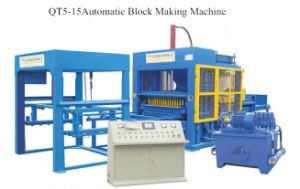 Cement Block Making Machine Brick Making Machine (QT5-15) pictures & photos