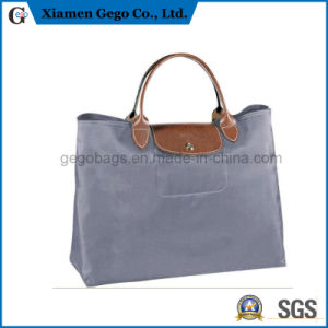 Promotional Designer Fashion Lady / Women Genuine Leather / Canvas Handbags