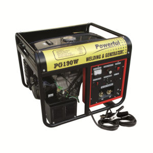 Portable Silent 50 - 180A AC Arc Welder Diesel Welder Generator / Machine Tgw6500s pictures & photos