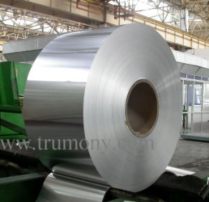Recyclable Aluminium Kitchen Foil / Microwave Aluminum Foil for Cleaning Oven Floor pictures & photos