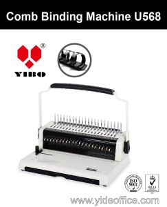 U Handle A4 Size Comb Binding Machine U568 pictures & photos