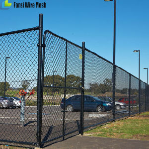 PVC Coating or Galvanized Cheap Chain Link Fencing