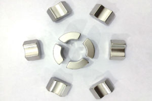 High Quality Arc Segment Neodymium Magnets Used in Motor with Ni Coating