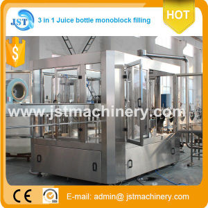 3 in 1 Monoblock Orange Juice Filling Production Machine/Machinery pictures & photos