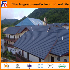 Hot Sale Wood Pattern Roof Tile with Certificates