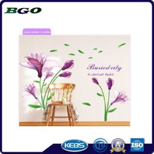 Removable Purple Florid 3D Wall Sticker pictures & photos