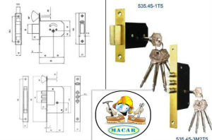Hot Sale! ! Mortise Door Handle Wooden Lock Body