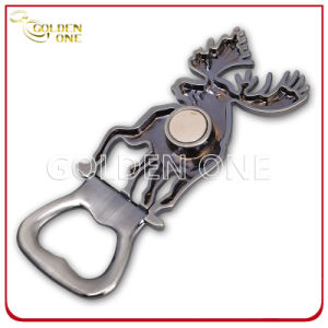 Finland Deer Shape Souvenir Gift Metal Magnetic Bottle Opener pictures & photos