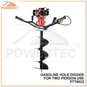Powertec 2400W 300mm Two Persons Use Gasoline Hole Digger pictures & photos