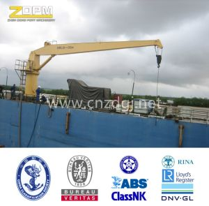 Electrical Inland Truss-Type Luffing Series Deck Jib Portal Crane 16ton