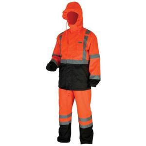 Australian Standard Safety 3m Reflective Waterproof Coverall