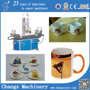 Yz Series Custom Hot Foil Rubber Metal Stamping Printing Machine at Home Price pictures & photos