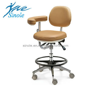 Dental Stool Leather Dental Stool (08021)