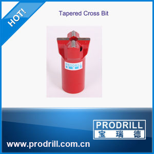 7 Degree Rock Drilling Tapered Cross Bits pictures & photos