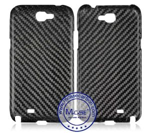 Competitive Price Best Quality 100% Real Carbon Fiber Cellphone Case Cover for Samsung Galaxy Note 2 N7100 pictures & photos
