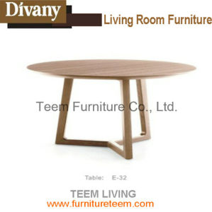 Solid Wood Dining Table Round Table Design pictures & photos