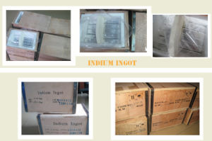 Hot Sale! Low Price Indium Ingot 99.99% 99.995% 99.999% pictures & photos