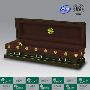 luxes chinese style full couch casket wooden funeral caskets china