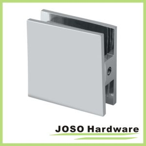 Square Chrome Shower Door Glass Bracket (BC201) pictures & photos