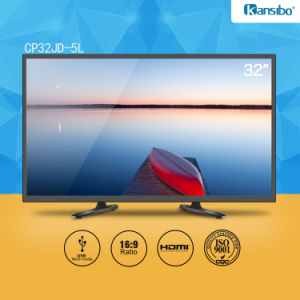 "32"" Cheap Price LED TV Flat-Screen Black, White or Gold Shell Cp32jd-5L"