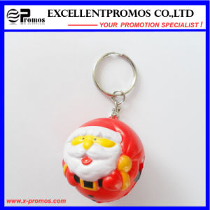Christmas Man Shape Anti-Stress Ball Keychain (EP-K82971) pictures & photos