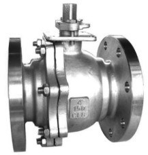 Class 300 Stainless Steel Floating Flanged Ball Valve