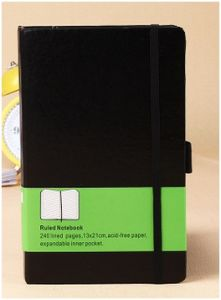 Personal Elastic Notebook with Calendar Promotion, Best Sale Notepad