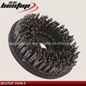D200mm Steel Wire Rope Brush for Stone Grinding and Polishing pictures & photos