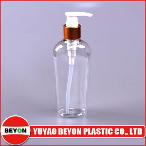 210ml Uncommon Clear Plastic Pet Bottle with Lotion Pump